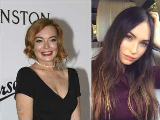 1986: Lindsay Lohan y Megan Fox