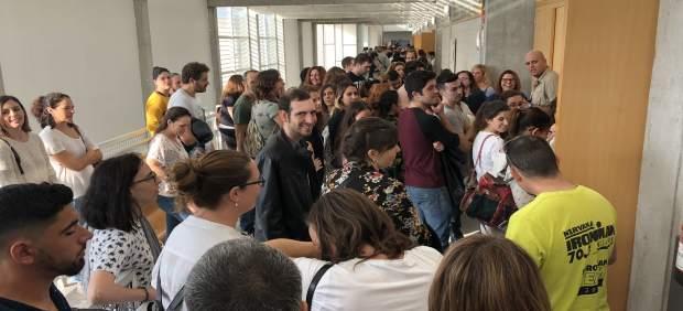 Un total de 367 personas se presentan al concurso-oposición de Salud para cubrir 93 plazas de ...