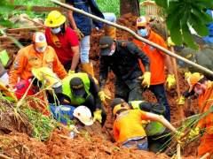 Al menos 9 muertos por un deslizamiento de tierra en Colombia