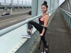 Una mujer que se rompió la espalda huyendo de un violador correrá la maratón de Nueva York