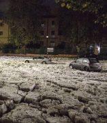 Granizada histórica en Roma