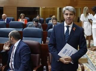 Angel Garrido en el debate sobre el estado de la región