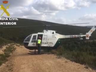 Rescate del ciclista en León 22-10-2018