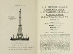 Así es la Torre Eiffel mejorada que Londres quería construir