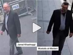 Un vídeo muestra a un agente saudí vestido con la ropa de Khashoggi
