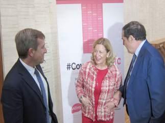 García Samaniego (i), Sánchez Antolín (c) y Sáez Aguado (d)