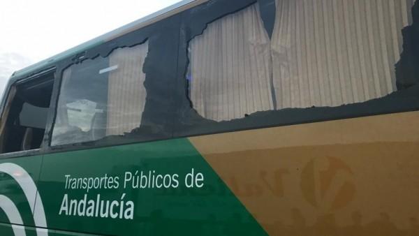 Estado en el que circulaba el autobús