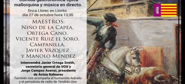 Ortega Cano visitará Mallorca para asistir a un evento en defensa de los toros y la unidad de ...
