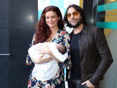 Joaquín Cortés, feliz tras convertirse en padre