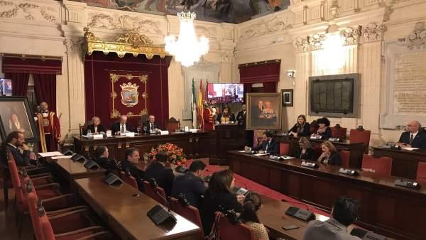 Pleno para conceder la Medalla de la Ciudad de Málaga a Chiquito