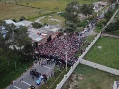 Una nueva caravana con 2.500 migrantes va a la frontera de Guatemala con México