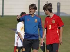 Julen Guerrero convoca para la selección sub15 a su hijo