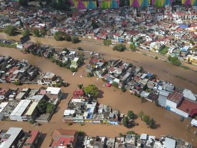 Inundaciones por el huracán Willa