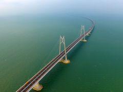 China inaugura hoy el puente sobre el mar más largo del mundo