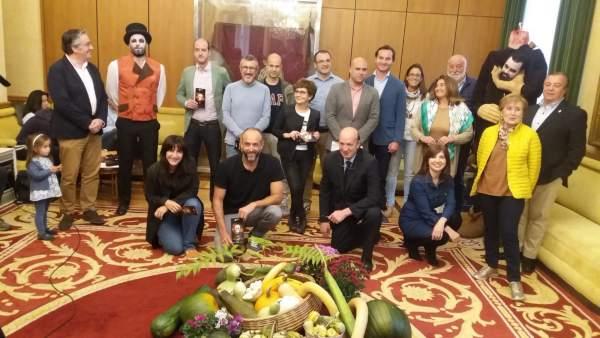 Presentación 'Calabazas y calaveras' del botánico de Gijón
