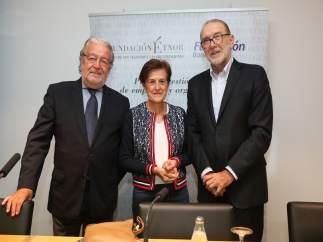 Adela Cortina en la inauguración del seminario Étnor