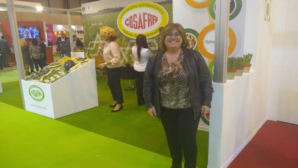 Ana Muñoz, de la Diputación de Granada, en Fruit Attraction