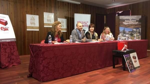 Coordinadora de mujeres rurales trabajar por provincia alcalde villanueva trabuc