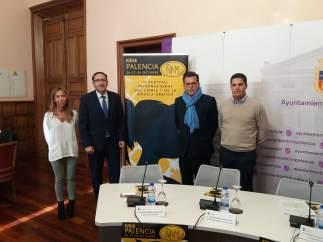 Polanco (2I) y Rodríguez (2D) durante la presentación de ÑAM 23-10-2018