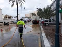 Trabajos de limpieza en Estepona