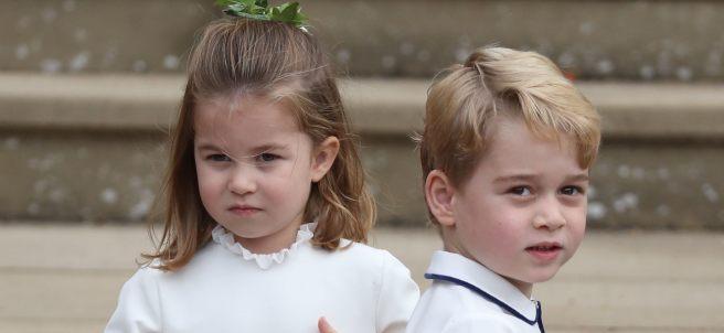 Principe George y Princesa Charlotte