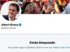 Pablo Echenique revela que Albert Rivera le ha bloqueado en Twitter