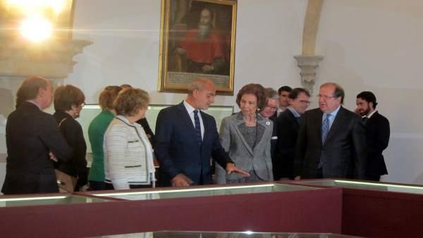 La Reina Sofía en su visita a la Casa-Museo Unamuno, 23-10-18