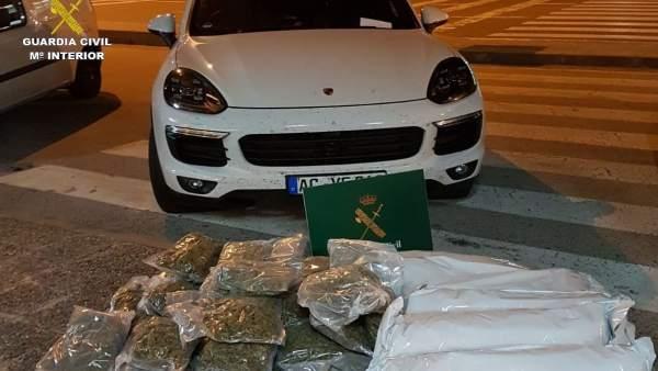 Incautan 76 kilos de marihuana en tres actuaciones en La Junquera (Girona)