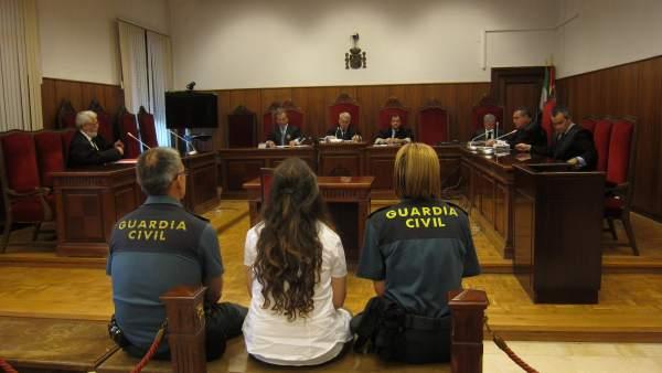 Un momento del juicio a la secretaria-interventora del Ayuntamiento de Obejo