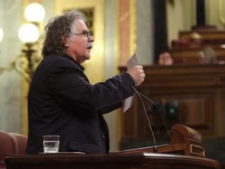 Joan Tardá, en el Congreso de los Diputados