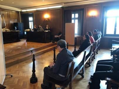 Miguel Rosendo durante el juicio de los 'Miguelianos'.