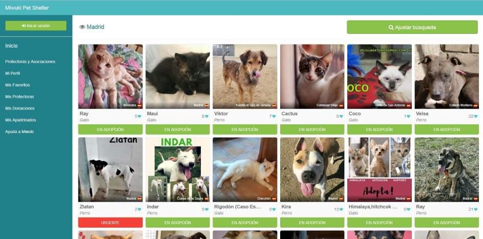 'Miwuki' una aplicación que fomenta la adopción