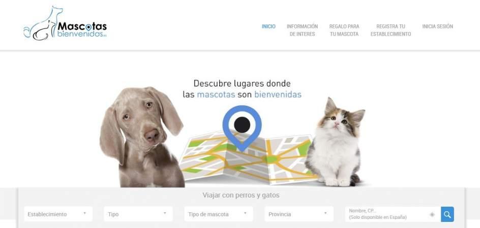 La app 'Mascotas bienvenidas' muestra donde puedes entrar con tu compañero peludo.