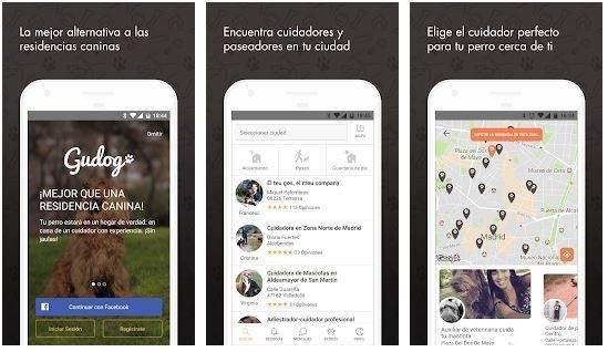 Gudog, la aplicación para encontrar canguro para tus mascotas