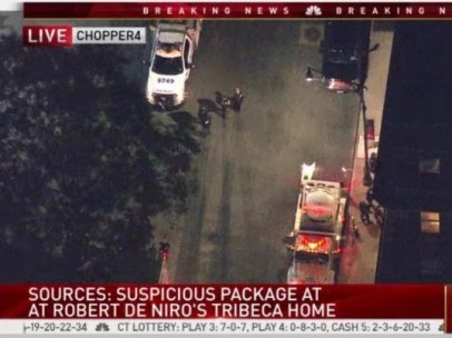 Paquete sospechoso Robert DeNiro