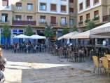 Bares en plaza Unamuno