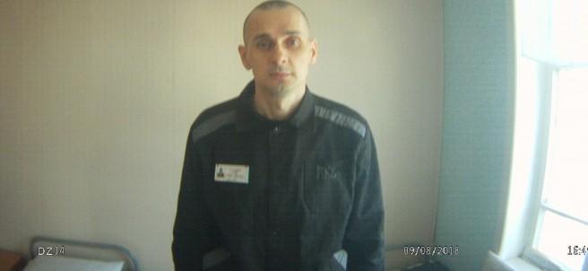 El cineasta ucraniano Oleg Sentsov