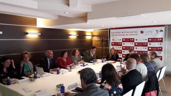 Imagen de archivo de la reunión del jurado de los XI Premios EVAP