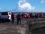 Inmigrantes llegados este miércoles a Lanzarote