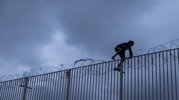 Menores extranjeros no acompañados en Ceuta