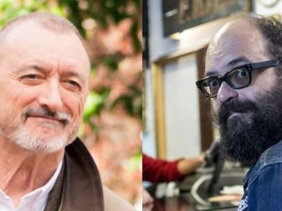 Arturo Pérez-Reverte y Igmatius Farray