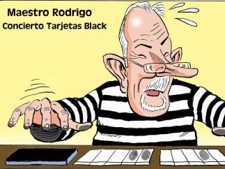 'Rodrigo Rato, artista', viñeta de Asier