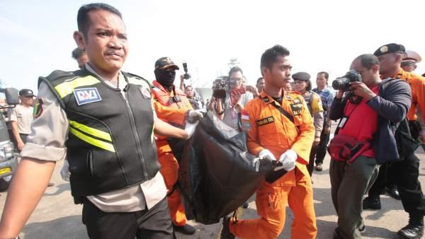 Avión de Lion Air accidentado en Indonesia