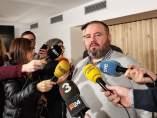 Joan Mena, portavoz de Catalunya en Comú.