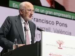 Juan Roig en el Congreso de Empresa Familiar en València