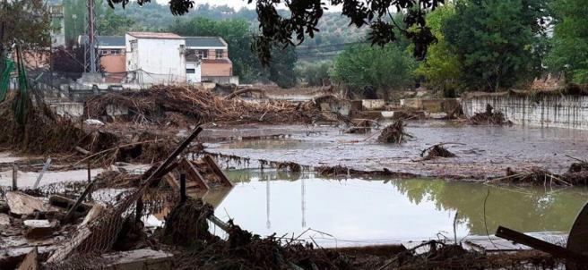 Inundaciones en Granada en 2009