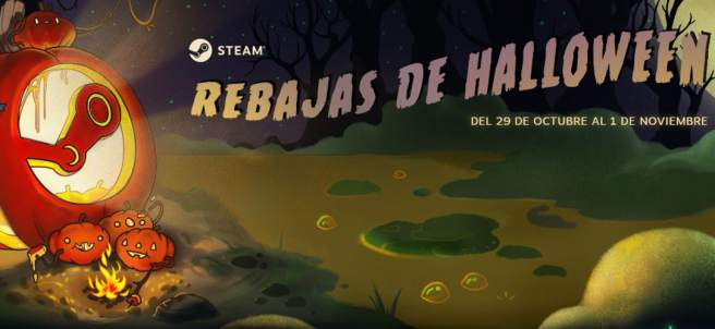 Rebajas por Halloween en Steam