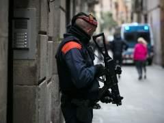 """Registro de """"narcopisos"""" en Ciutat Vella, Barcelona."""