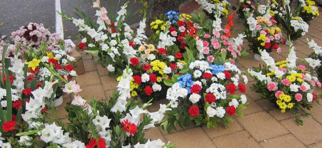 Flores Cementerio.