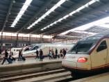 Renfe tren AVE málaga madrid vialia estación ferrocarril maría zambrano viajeros